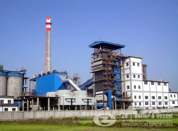 Circulating Fluidized Bed Hot Water Boiler