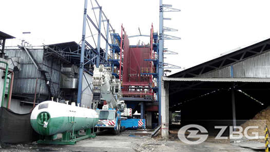 Biomass power boilers sell well in Nigeria