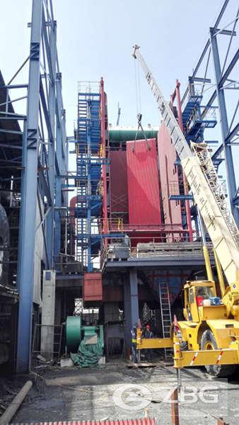 45ton biomass power boilers