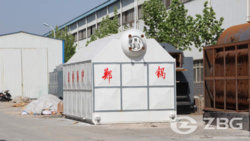 4t sawdust pellet steam boiler in Vietnam