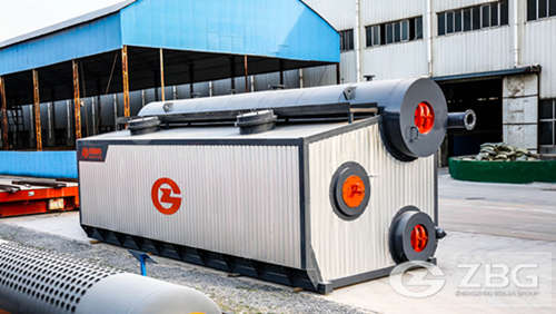 5 ton horizontal steam boiler for palm oil biomass in Malaysia