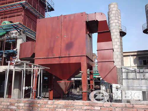 25 ton inner CFB steam boiler for candy factory in Malaysia