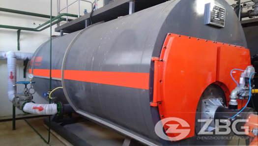10 ton 5 bar oil gas boiler in Venezuela