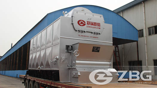 2 ton wood fired steam boiler for candy making plant