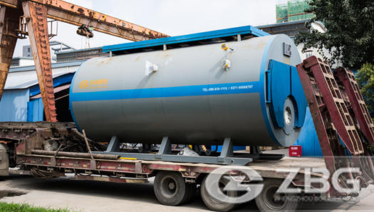 6000kgh gas and oil boilers in Ghana for pharmaceutical factory