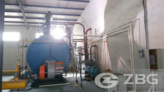 10 ton AGO(diesel) steam boiler use for tobacco company