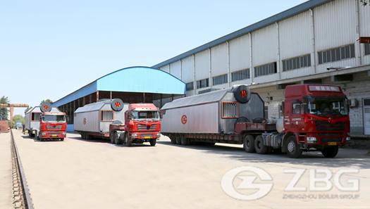 25 ton coal fired steam boiler for Furnace Oil treatment plant