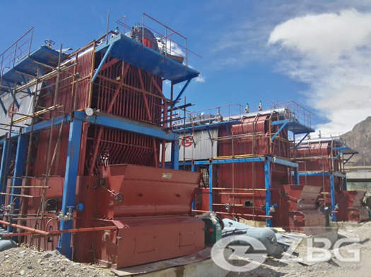 25 ton coal fired steam boiler for Furnace Oil treatment plant installation