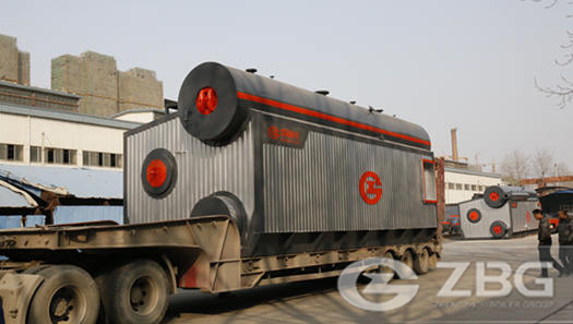 20 ton natural gas fired boiler for textile industry in Bangladesh
