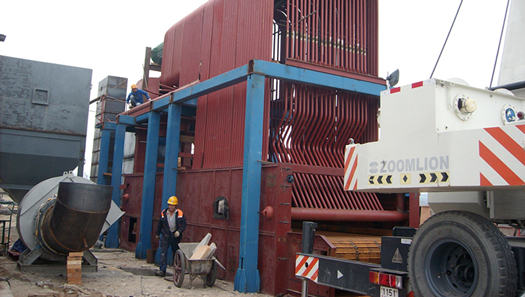 20 ton /hr 2.5Mpa coal fired steam boiler in Pakistan