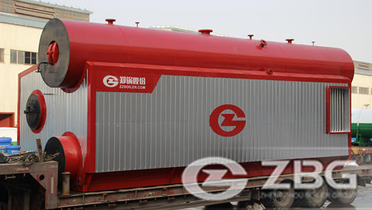 2 sets(25 ton/h and 16 ton/h) of HFO fired steam boiler in Armenia