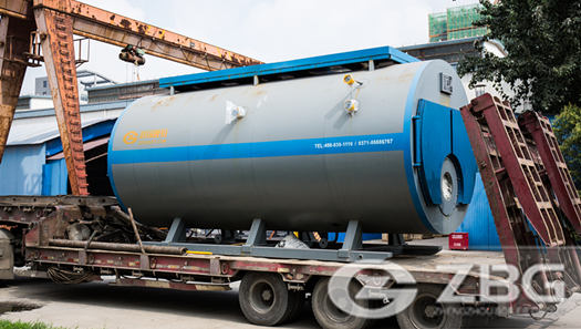 1000 bhp and 250 psig oil fired boiler for paper mill in Colombia