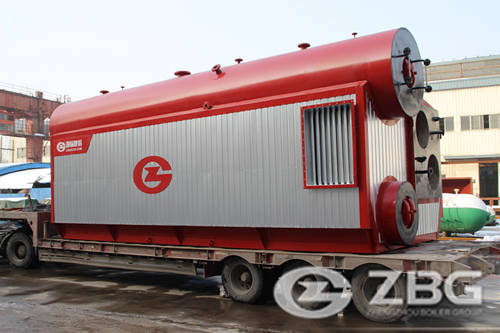 diesel boiler for milk powder factory