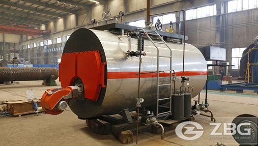 2 ton diesel-fueled boiler for Edible oil plant in Nigeria