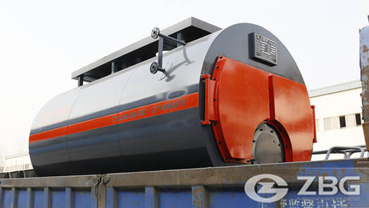 4 ton gas fired boiler for Tyre industry in USA