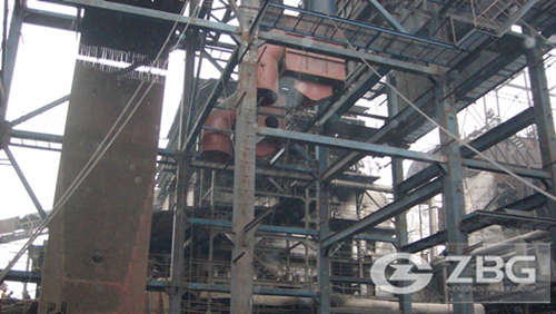 Power plant boiler used in large garment factory
