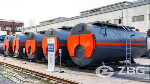 steam boiler used in textile industry