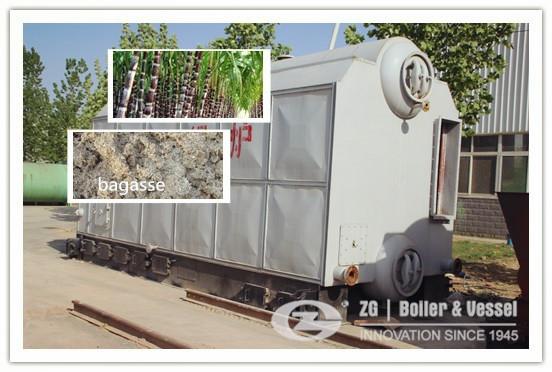 Steam boiler applications in sugar mills