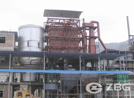 Waste heat hot water boiler